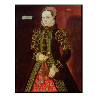 Elizabeth Fitzgerald, Countess of Lincoln, 1560 Postcard