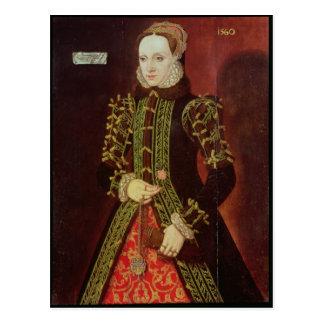 Elizabeth Fitzgerald, Countess of Lincoln, 1560 Postcard