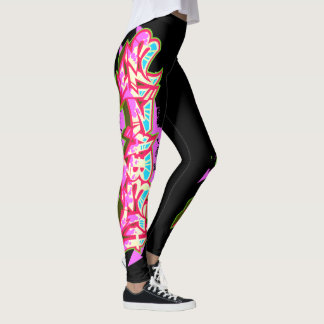Elizabeth Graffiti Burner Leggings