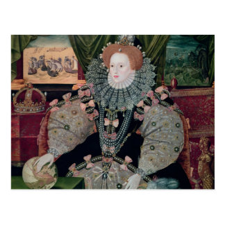 Elizabeth I, Armada Portrait, c.1588 Post Card