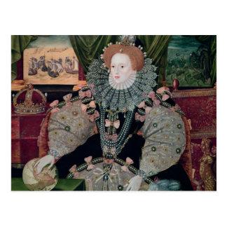 Elizabeth I, Armada Portrait, c.1588 Postcard