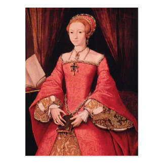Elizabeth I as Princess Postcard