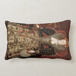 Elizabeth I c 1599 Throw Pillows