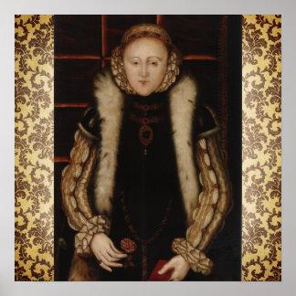 Elizabeth I Circa 1560 Poster