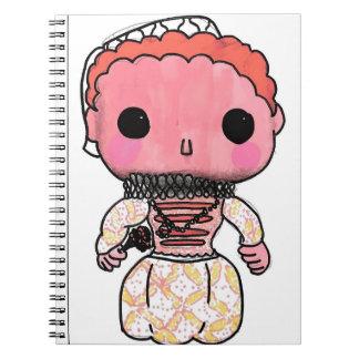 Elizabeth I History Notebook - Funko Pop Style
