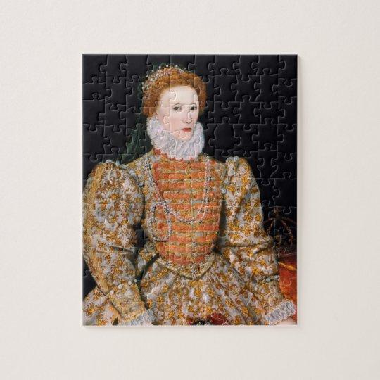 """Elizabeth I of England (The """"Darnley Portrait"""") Jigsaw"""