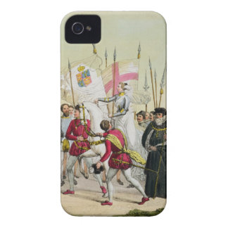 Elizabeth I, plate 12 from 'The History of the Nat iPhone 4 Covers