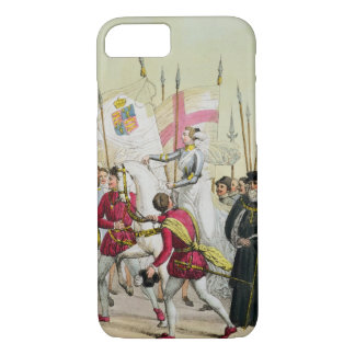 Elizabeth I, plate 12 from 'The History of the Nat iPhone 7 Case