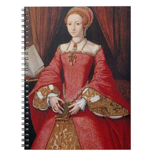 Elizabeth I Queen of England Notebook