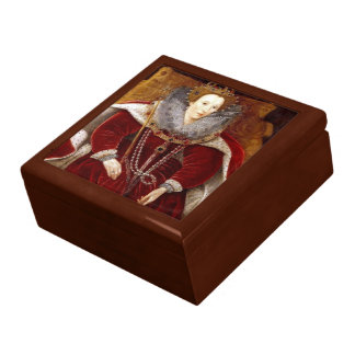 Elizabeth I Red Robes Gift Box