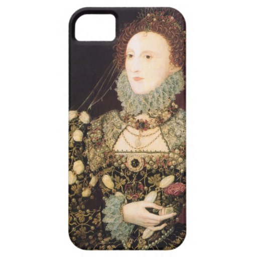 "Elizabeth I, the ""Phoenix"" iPhone 5 Covers"