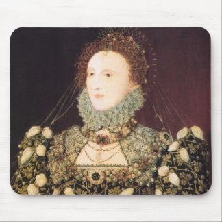"Elizabeth I, the ""Phoenix"" Mouse Mat"
