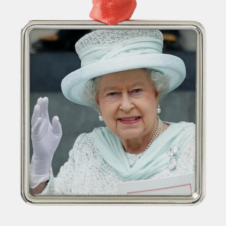 Elizabeth II, Queen of the United Kingdom Christmas Ornament