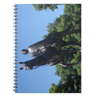 Elizabeth II Statue in Montreal City Notebook