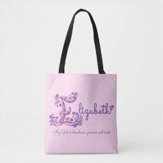 Elizabeth name and meaning monogram bag