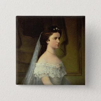 Elizabeth of Bavaria , Empress of Austria 15 Cm Square Badge