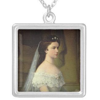 Elizabeth of Bavaria , Empress of Austria Silver Plated Necklace