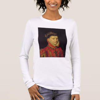 Elizabeth of Valois (1545-68) 1570 (oil on canvas) Long Sleeve T-Shirt