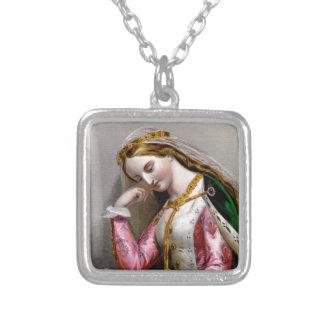 Elizabeth of York Square Necklace