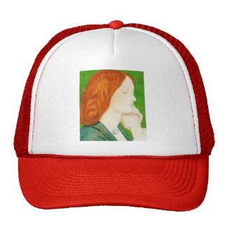 Elizabeth Siddal by Dante Gabriel Rossetti Trucker Hat