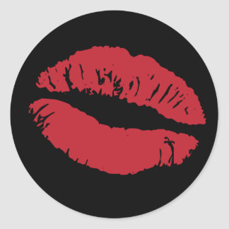 Elizabeth TailHer - Lip Stickers (Black Back)