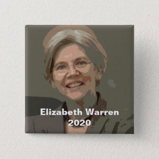Elizabeth Warren 2020 15 Cm Square Badge