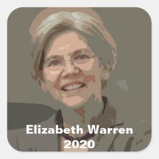 Elizabeth Warren - 2020 Square Sticker