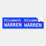 Elizabeth Warren Car Bumper Sticker