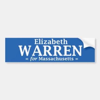 Elizabeth Warren for Massachusetts sticker Bumper Sticker