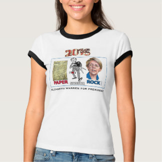 Elizabeth Warren for President 2016 T-Shirt