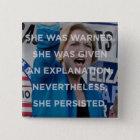 Elizabeth warren nevertheless she persisted badge
