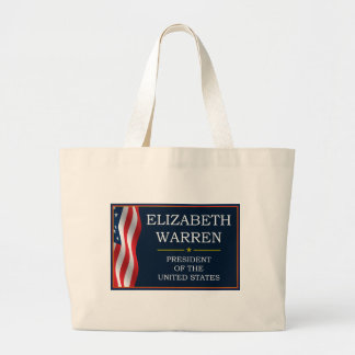 Elizabeth Warren President V3 Tote Bags