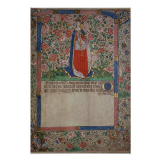Elizabeth Woodville  Queen Consort of King Edward Poster