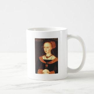"Elizabeth Woodville ""The White Queen"" Basic White Mug"