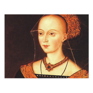 "Elizabeth Woodville ""The White Queen"" Postcard"