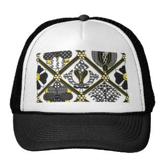 Elizabethan Blackwork tile Trucker Hat