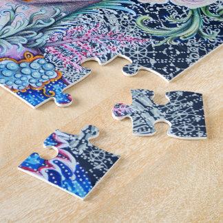 Elizabethan Coral Reef Queen Puzzle