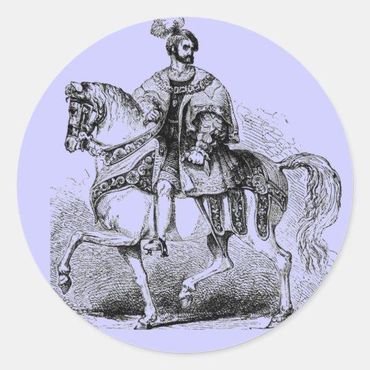 Elizabethan Costumes Classic Round Sticker