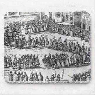 Elizabethan Procession Mouse Pad