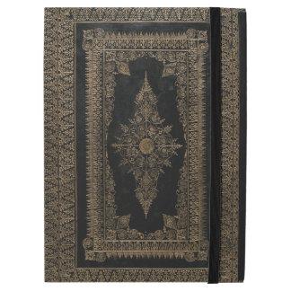 Elizabethan Style Rose Gold Book Cover Design