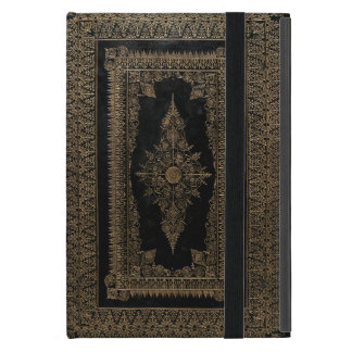Elizabethan Style Rose Gold Book Cover Design Case For iPad Mini