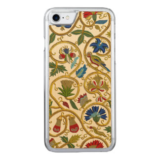 Elizabethan Swirl Embroideries-Goldwork imitation Carved iPhone 8/7 Case