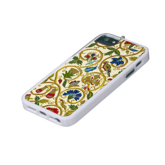 Elizabethan Swirl Embroideries-Goldwork imitation iPhone 5/5S Cover
