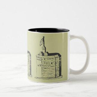 Elizabethan Theatre Sketch II Mugs