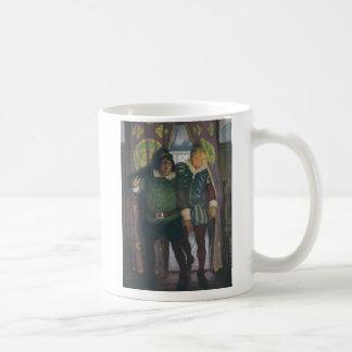 Elizabethans in an Inn Basic White Mug