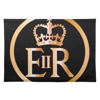 Elizabeth's Reign Emblem Place Mats