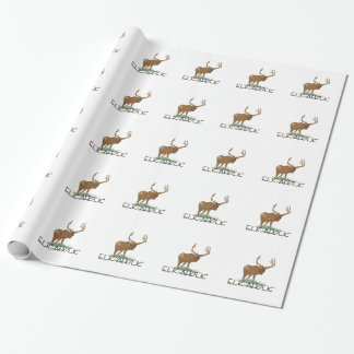Elk-aholic Wrapping Paper