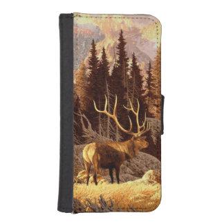 Elk Bull iPhone SE/5/5s Wallet Case