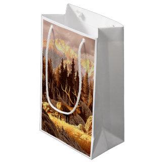 Elk Bull Small Gift Bag