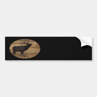 elk bumper sticker